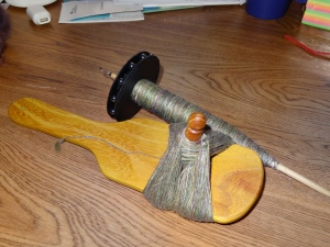 Andean plying tool from Straddle Creek Spins.